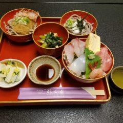 ランチメニュー(海鮮丼セット)